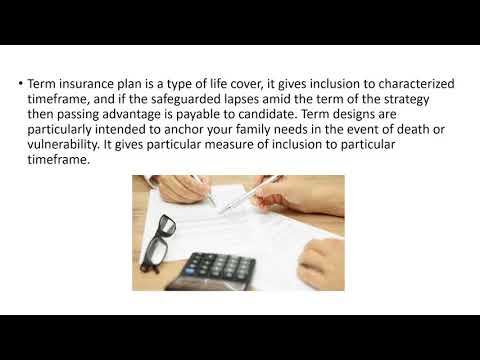 All you want to know about term insurance