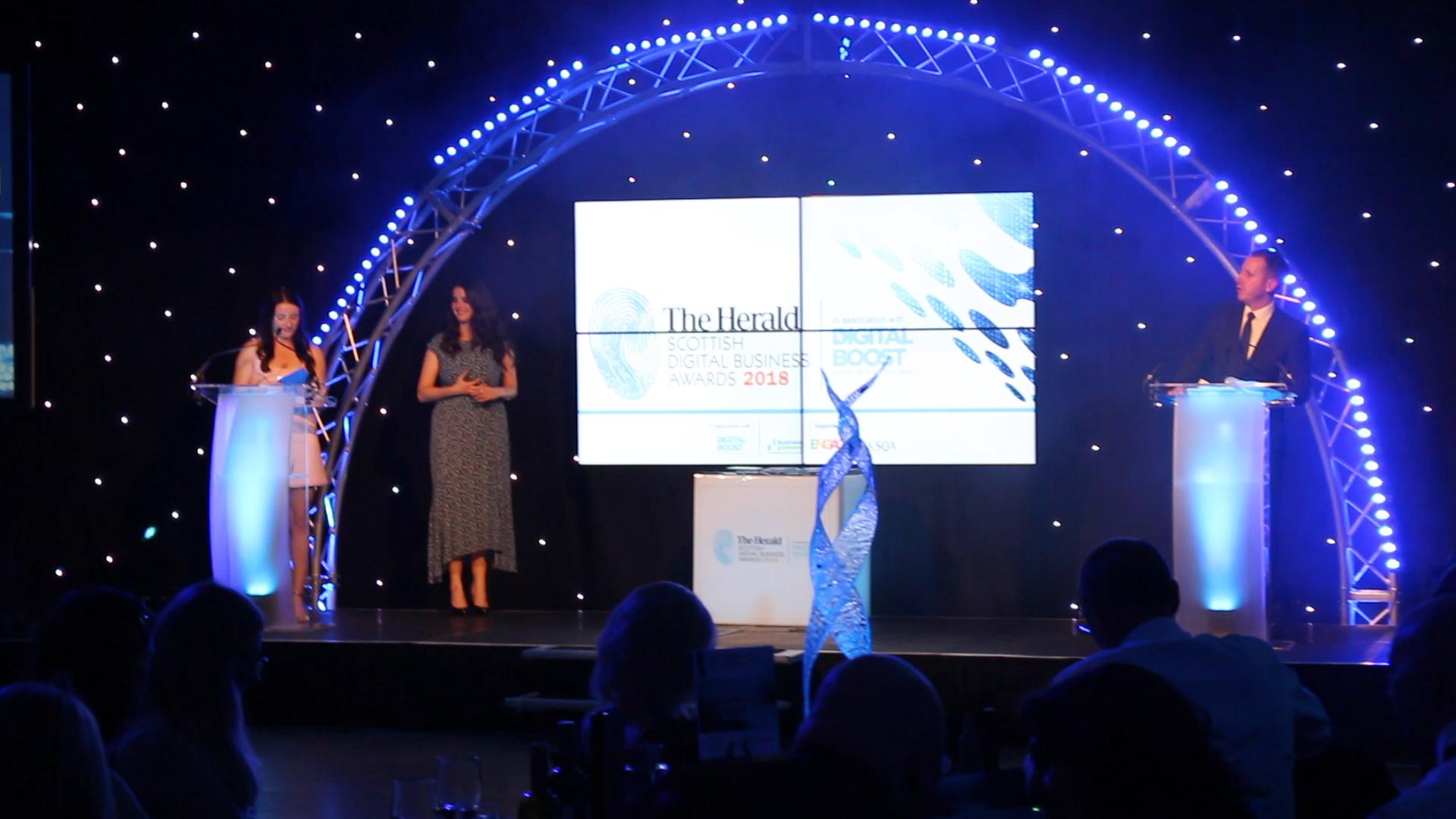 Herald Scottish Digital Business Awards 2018
