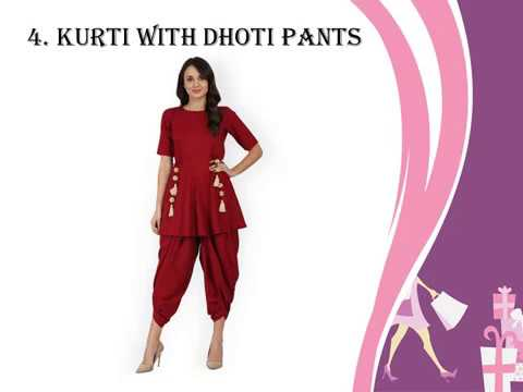 11 Different Bottom Wear To Pair With Kurtis