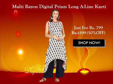 Diwali Special Dhamaka Offer On Women Kurtis
