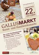 GALLUSMARKT Kunst- und Handwerksmarkt