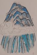 Mail art La Montagna
