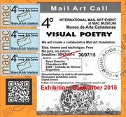 4° INTERNATIONAL MAIL ART EVENT AT MAC MUSEUM - ARGENTINA