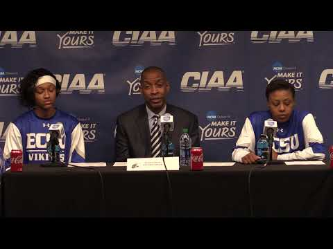 Elizabeth City State University Women's Basketball Post-Game Interview (2/28/19)