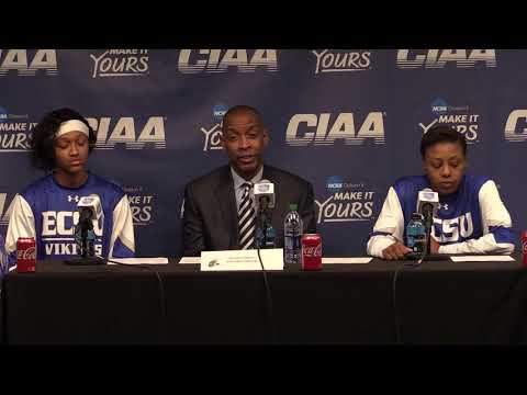 Elizabeth City State University Women's Basketball Post-Game Interview (2/28/19)