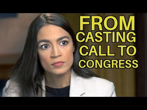 AOC ANSWERS CASTING CALL TO RUN 4 CONGRESS!