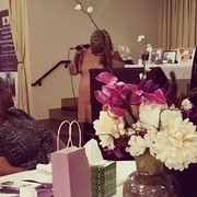 Simply T performing at Domestic Violence event 2017