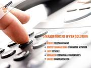 Are you aware of these 5 major benefits of IP PBX Solution?