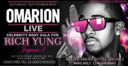 Mr.Archer Presents: RICH YUNG Bday Gala Feat: Omarion