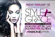 """Style & Grace """"An Aquarius Dream"""" at Fashion 40"""