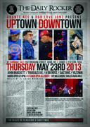 Adante Ace Presents: Uptown Down Town Showcase