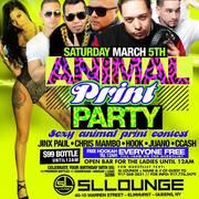 Animal Print Party At SL Lounge