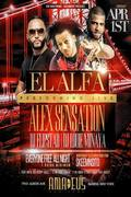El Alfa Live With Alex Sensation At Amadeus
