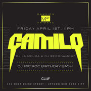 Mansion Fridays DJ Camilo Live At Cliff Nightclub
