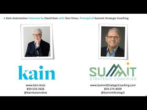 David Kain interviews Executive Coach, Tom Vines.