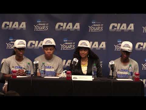Virginia Union University Women's Basketball Post-Game Interview (3/2/19)