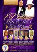 4th Pastoral Anniversary Flyer
