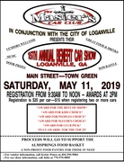 Masters Car Clubs 15th Annual Benefit Car Show, Loganville, GA