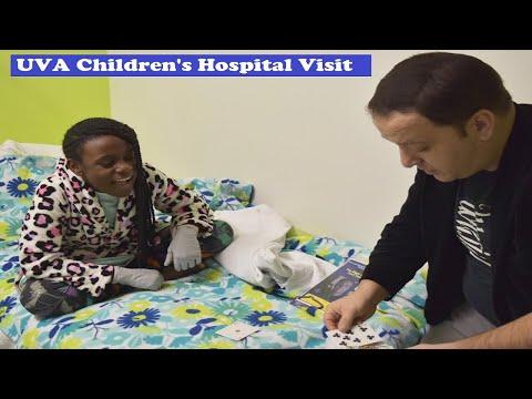 Wes Iseli's Magic of Giving Project #25 (UVS Children's Hospital visit)