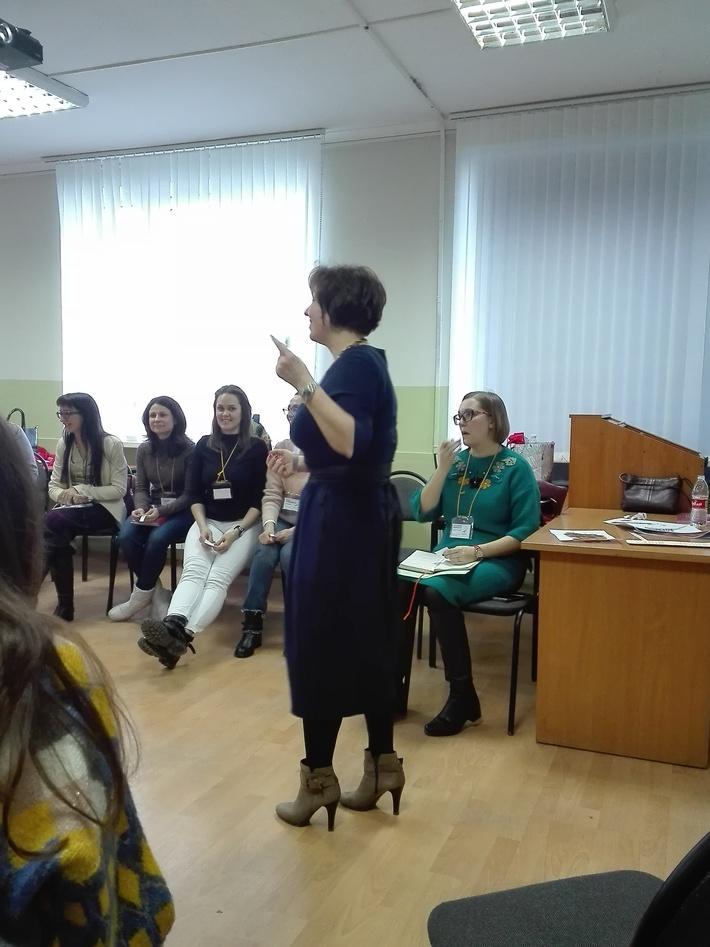 Maria Severnaya workshop