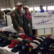 Cap'n Spud and Mrs. Spud at Detroit Aviation Show