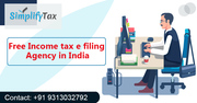 Simplify Tax: Free Income Tax E filing Agency in India for FY 2018-2019