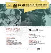 PO-MO INTERNATIONAL MAIL ART EXHIBITION