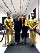 Mohamed Dekkak with Anna Perrotta at Opening ceremony of Imerial Brand Dubai Mall #SS19 #imperialfashion #imperialpeople #VogueShareable #VogueItalia #italy #italia #italianfashion #italianstyle  #dub