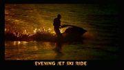 Evening jet ski