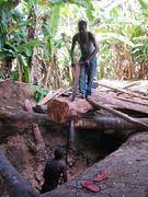 Zamzibar. Wood workers