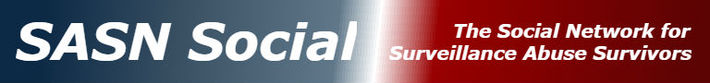 SASN Social - Surveillance Abuse Survivors Network Logo