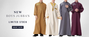 Boys Jubba Collection at EastEssence