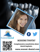 Natural-Looking Dental Implants at Affordable Cost