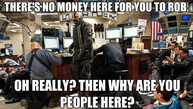 No money,  Really?