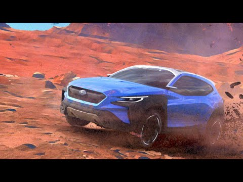 SUBARU VIZIV ADRENALINE CONCEPT World Premiere Video