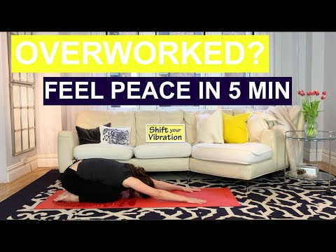 How to stop feeling overwhelmed!