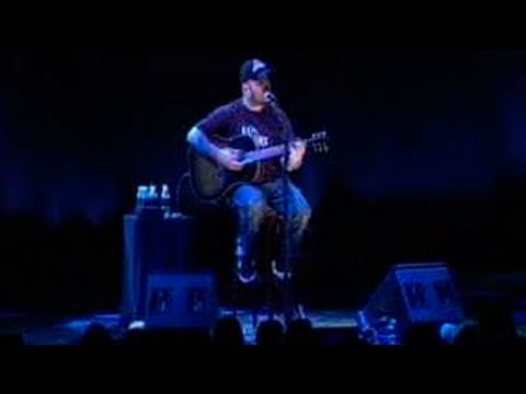 Aaron Lewis from Staind - Turn the Page (Mohegan Sun Casino, 2008) [Acoustic Bob Seger Cover]