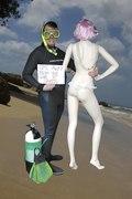WOODY wetsuit beach
