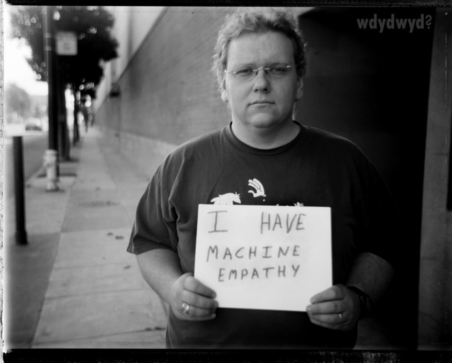 Paul Showalter - I have machine empathy
