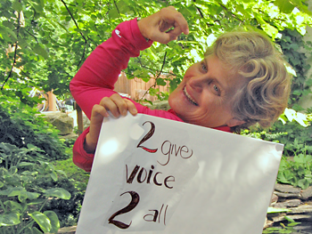 Beth: 2 give voice 2 all