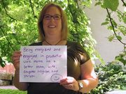 Karen H: Being energized and engaged in productive work makes me a better mom, wife, daughter, neighbor, and person.