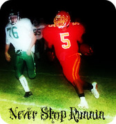 Never stop runnin by: De Marcus