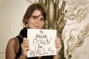 to break down walls