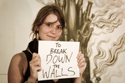 to break down walls