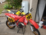 JB's freshly restored 89 cr500