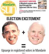 Mandarin Sun cover 9/13/08