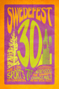 Swedefest Concert Poster