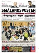 Smålandsposten – European Newspaper of The year 2009