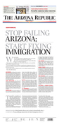 Front-Page Editorial: Immigration