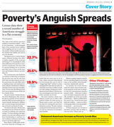 Poverty's anguish spreads